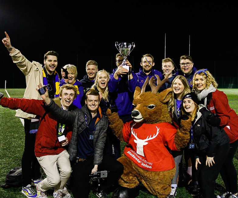 Surrey Smash Holloway To Retain Varsity Crown