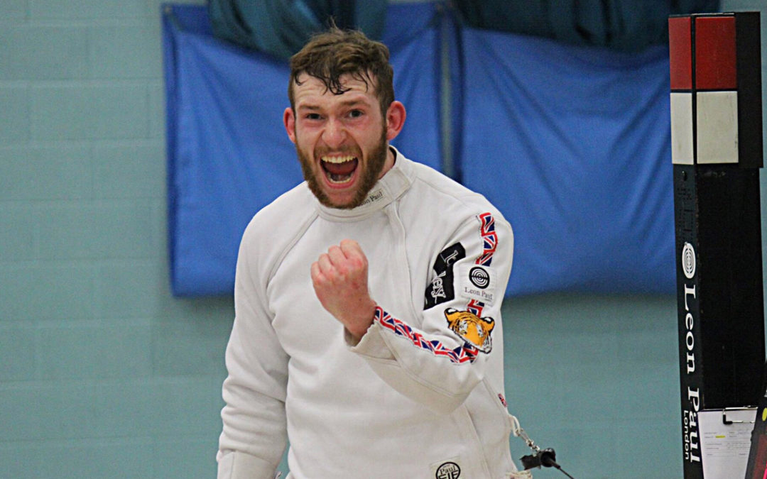 Surrey Fencing Fanatic Ranked GB Number One