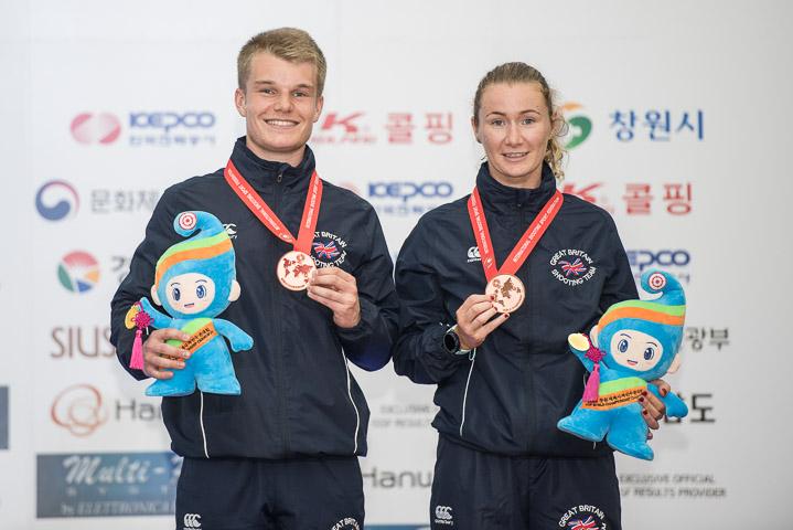 Shooting Scholar On Target At World Championships