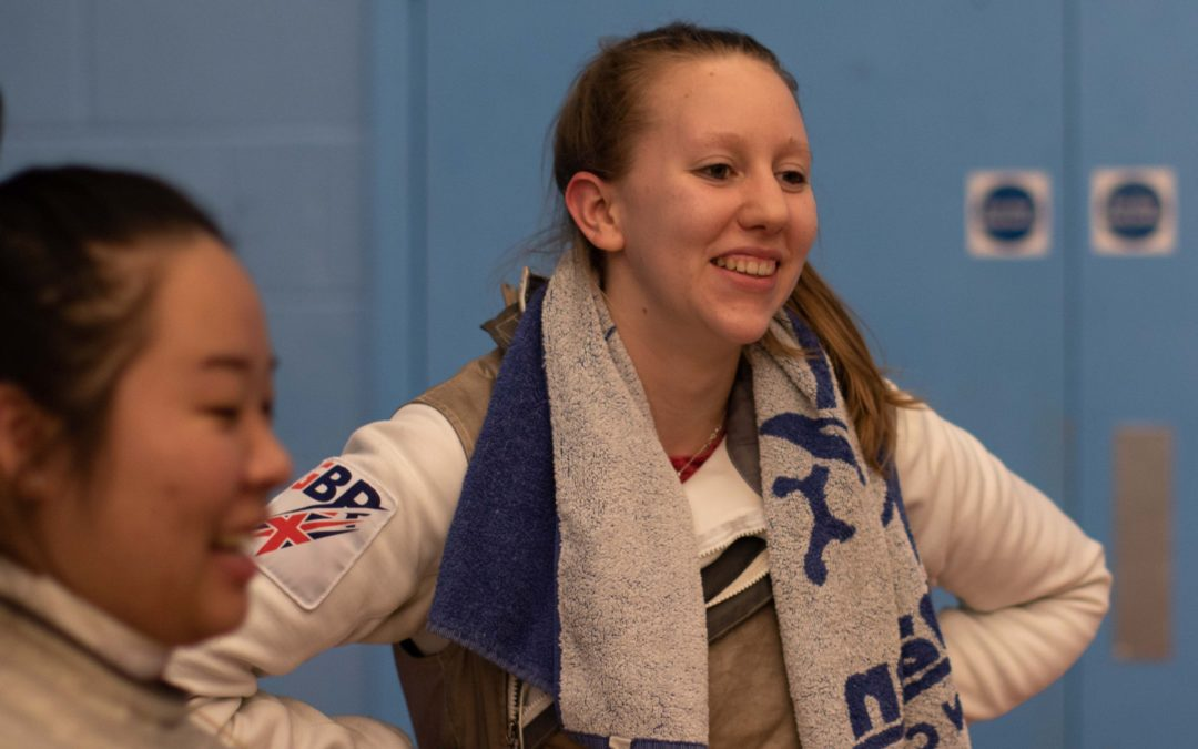 Scholars Q&A: We hear from fencer Lydia Stanier!